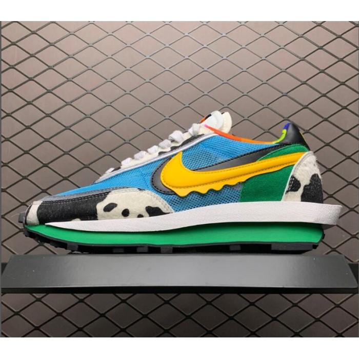 Men's/Women's Custom Ben Jerry's x Sacai x Nike LDV Waffle