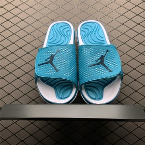 Men's Jordan Hydro 5 Hyper Turquoise Slide Sandals