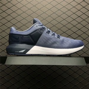 Men's Men Nike Air Zoom Structure 22 Navy Blue White
