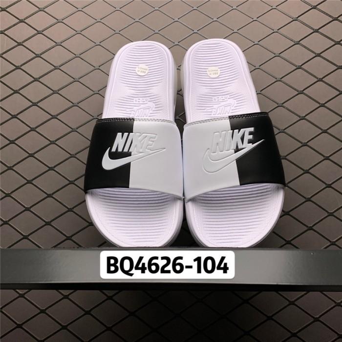 Men's/Women's Nike Air Max Camden Black White Slide Sandals