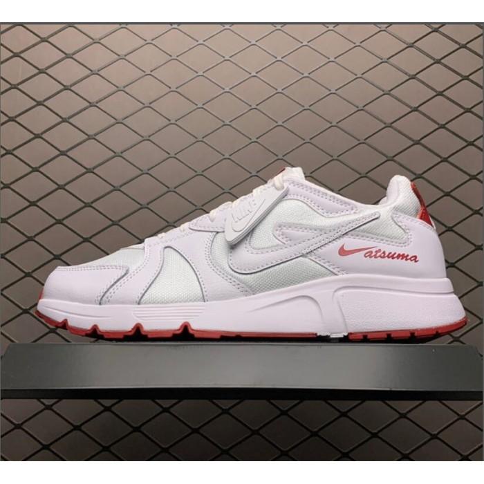 Men's Nike Atsuma White Red Sneakers