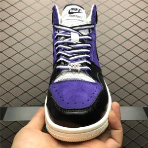 Men's Nike Court Force Hi Stussy Varsity Purple Dk Obsidian-Sail