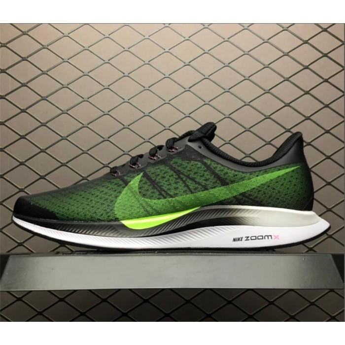 Men's Nike Zoom Pegasus Turbo 35 Black Green White