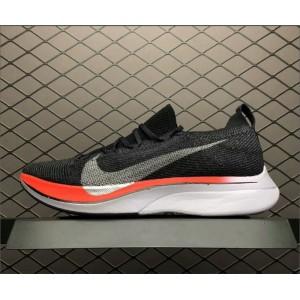 Men's/Women's Nike Zoom VaporFly 4 Flyknit Black Red White