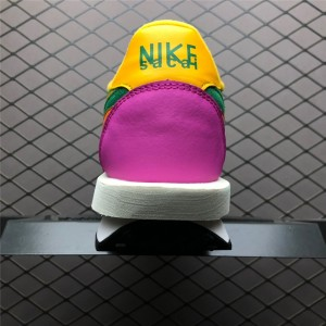 Men's/Women's Sacai x Nike LVD Waffle Daybreak Green Pink Yellow