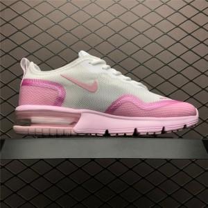 Women's Nike Airmax Sequent White Pink BQ8825-100