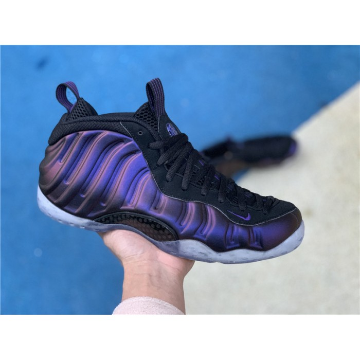 Men's Nike Air Foamposite One Eggplant Varsity Purple Black