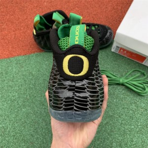 Men's Nike Air Foamposite One Oregon Ducks Black Yellow