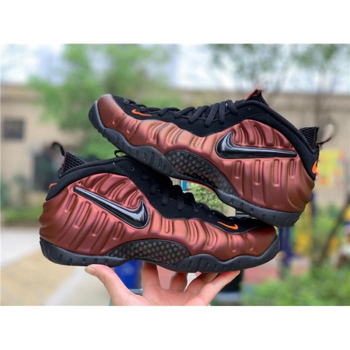 Men's Nike Air Foamposite Pro Hyper Crimson Black New Sale