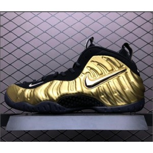 Men's Nike Air Foamposite Pro Metallic Gold 624041-701