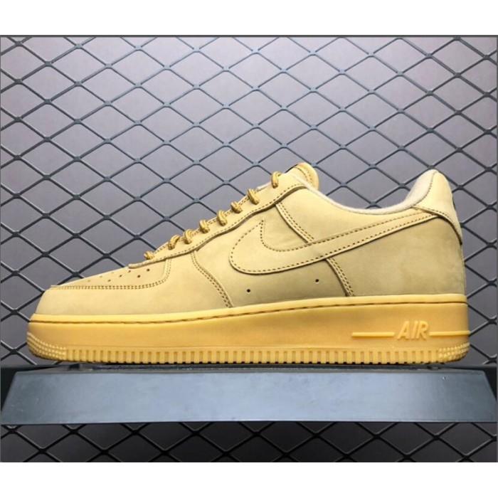 Men's/Women's Nike Air Force 1 Low Flax Wheat AA4061-200