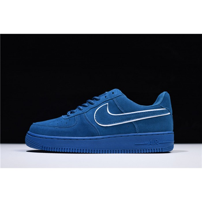 Men's/Women's and Nike Air Force 1 07 LV8 Low Suede Blue