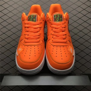 Men's/Women's New Nike Air Force 1 Low Just Do It Orange