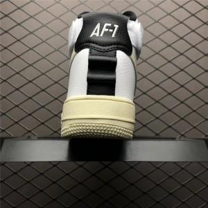 Men's/Women's Nike Air Force 1 Utility White Black Sneakers