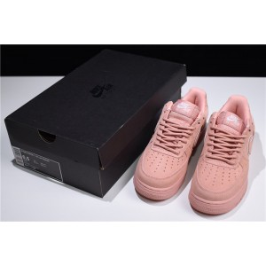 Women's Nike Air Force 1 07 LV8 Low Red Suede Pink