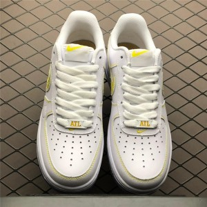Men's/Women's Nike Air Force 1 City Pride White Metallic Gold-Desert