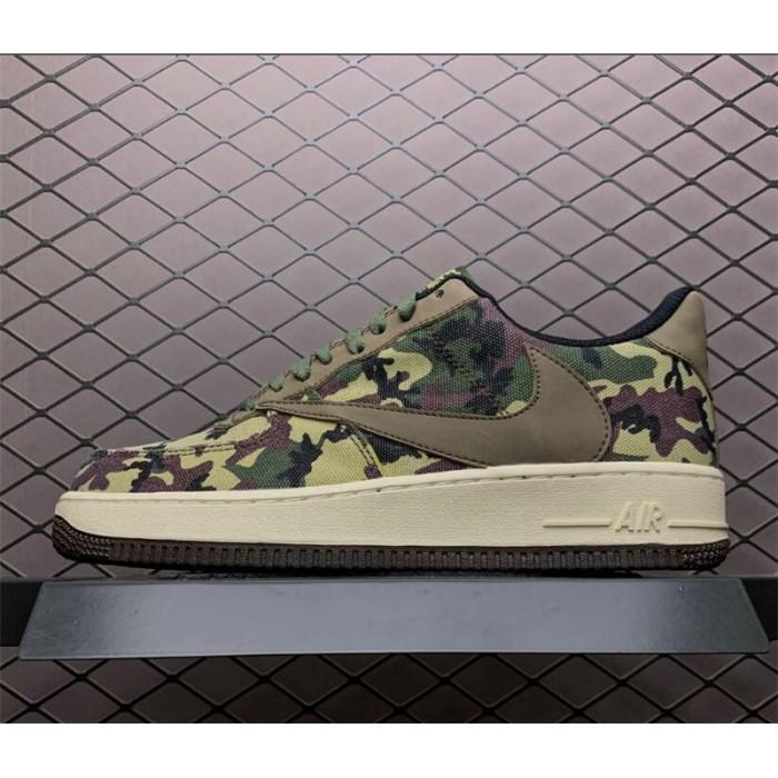 Men's Nike Air Force 1 07 Low Medium Olive Black