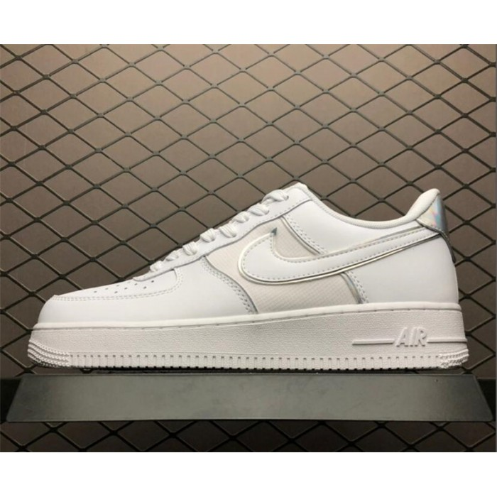 Men's/Women's Nike Air Force 1 Low All White AT6147-100