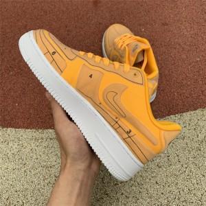 Men's/Women's Nike AF1 Air Force 1 07 LX Sketch Laser Orange White