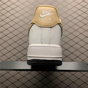 Men's/Women's Nike Air Force 1 07 White Earth Yellow
