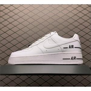 Men's/Women's Nike Air Force 1 Added Air White-Black