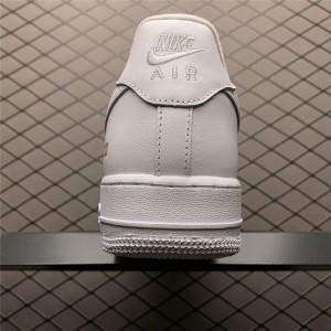 Men's Supreme x Nike Air Force 1 Low White Sale