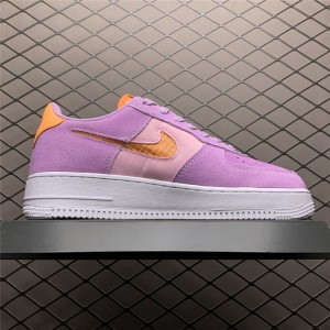 Women's 2021 Nike Air Force 1 Low Violet Star Outlet