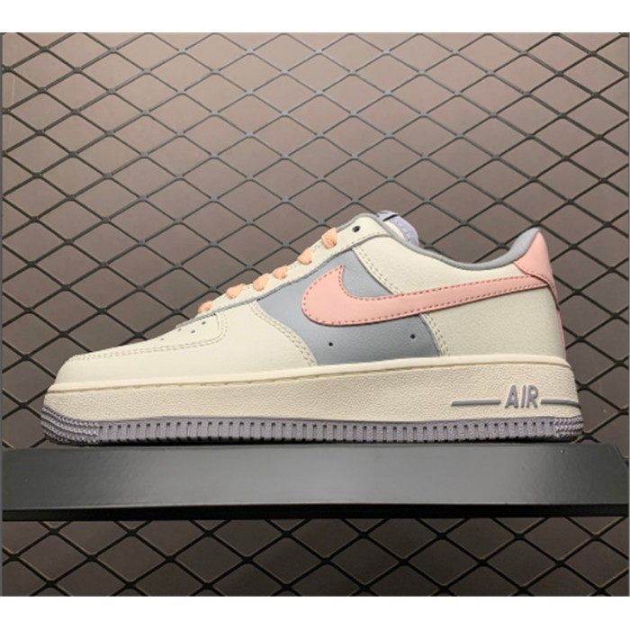 Women's Nike Air Force 1 Low Pink White Shoes CW7584-101