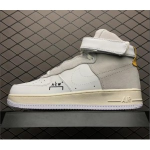 Men's A-Cold-Wall* x NikeLab Air Force 1 High White Grey