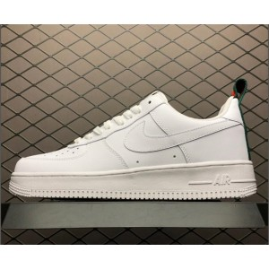 Men's/Women's Brand New Nike Air Force 107 White Suede