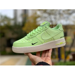 Men's/Women's Nike Air Force 1 Low Just Do It Neon Yellow