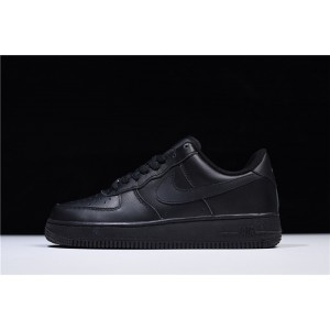 Men's/Women's Nike Air Force 1 07 Triple Black 315122-001