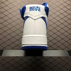 Men's/Women's Nike Air Force 1 High OG NAI KE White Game Royal