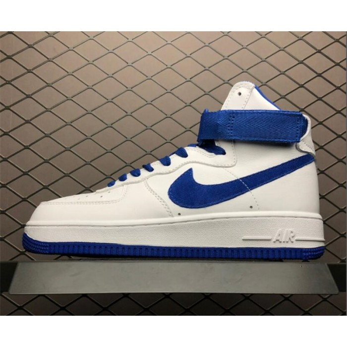 Men's/Women's Nike Air Force 1 High OG NAI KE White Game Royal