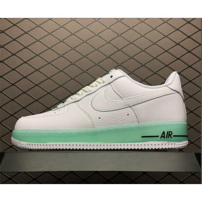 Men's/Women's Nike Air Force 1 Upstep Low White Light Green