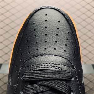 Men's Nike Air Force 107 Black Yellow Free Shipping