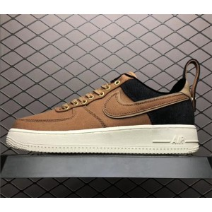 Men's/Women's Carhartt WIP x Nike Air Force 1 Low Ale Brown Sail