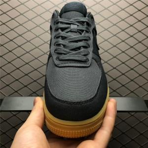 Men's/Women's Nike Air Force 1 07 Black Gum AQ0117-002
