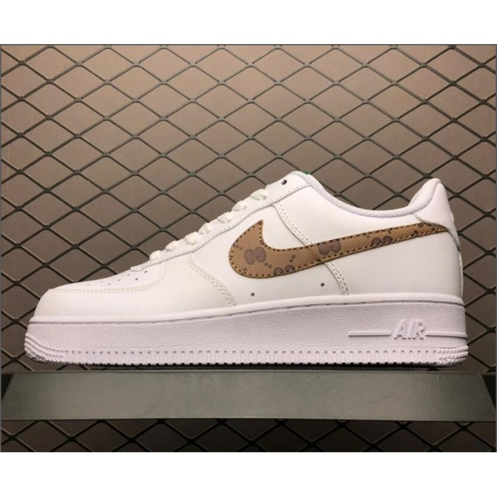 Men's/Women's Nike Air Force 1 07 Low White AR7720-101