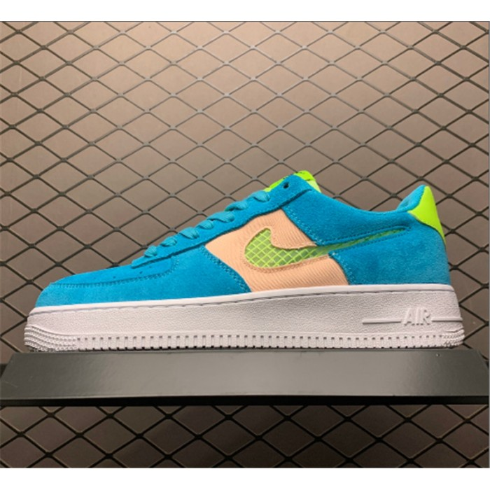 Men's/Women's Nike Air Force 1 Fresh Air Oracle Aqua