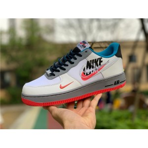 Men's/Women's Nike Air Force 1 Low Time Capsule Script Swoosh