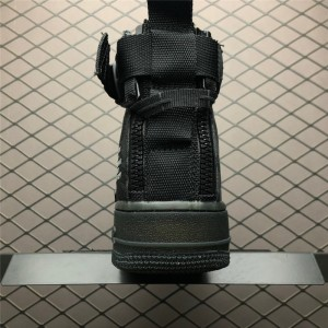 Men's/Women's Nike SF Air Force 1 Mid Black Cargo Khaki