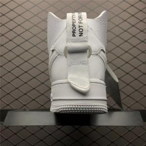 Men's/Women's PSNY x Nike Air Force 1 High Triple White