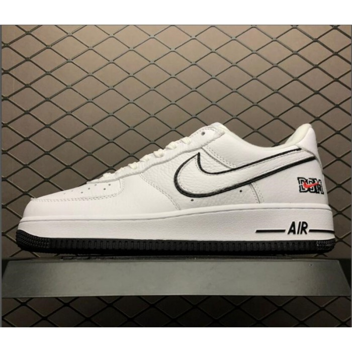 Men's/Women's Dover Street Market x Air Force 1 Low NYC White Black