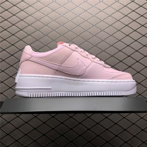 Women's Grade School Nike Air Force 1 Shadow Pink Foam Shoes