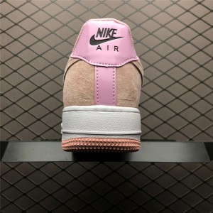 Women's GS Nike Air Force 1 Low Pink Foam Have A Nike Day With Smile