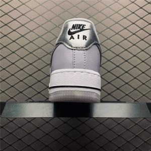Women's Ladies Nike Air Force 1 07 Metallic Lilac Oxygen Purple For
