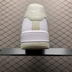 Women's Latest Nike AF1 Air Force 1 07 Light Bone-White