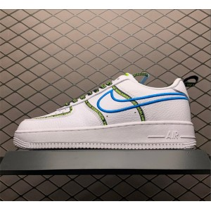 Men's/Women's Men and Nike Air Force 1 07 PRM Worldwide White
