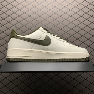 Men's/Women's Men and Nike Air Force 107 Beige Army Green
